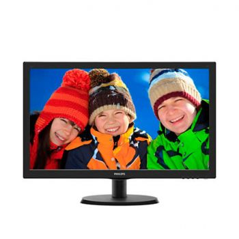 "Monitor 22"" Philips 223V5LHSB2/00 V-Line, Full HD, 5ms, VGA,HDMI, Black"