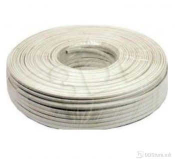 Telephone flat cable stranded wire 100m