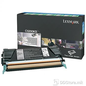 LEXMARK C520, C530 1.5K BLACK