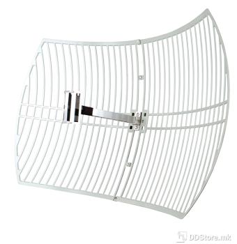 TP-Link TL-ANT2424B 2.4GHz 24dBi Grid Parabolic Antenna.