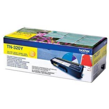Brother Toner TN320Y (2500 str.) for  HL-4150CDN/4570CDW / HL-4140CN / DCP-9055CDN / DCP-9270CDN / MFC-9460CDN, MFC-9970CDW