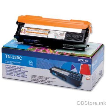 Brother Toner TN320C (2500 str.) for  HL-4150CDN/4570CDW / HL-4140CN / DCP-9055CDN / DCP-9270CDN / MFC-9460CDN, MFC-9970CDW