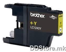 Brother Cartridge LC1240Y Yellow for MFCJ6510DW/MFCJ6910DW