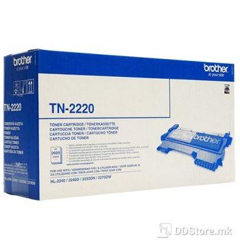 Brother toner for HL 2240D HC (2.6.k) TN2220