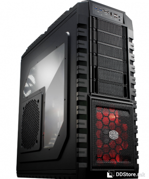 CoolerMaster HAF X, RC-942-KKN1, Full black chassis
