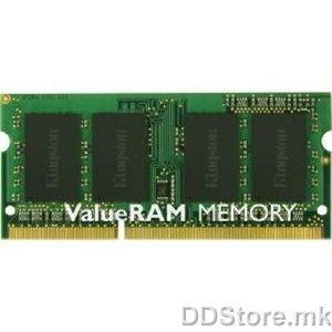 Kingston 2GB 1600MHz DDR3 Non-ECC CL9 SODIMM, KVR16S11/2BK