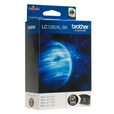 Brother Cartridge LC1280XLBK Black for MFCJ5910DW/MFCJ6510DW/MFCJ6910DW, up to 2400pgs