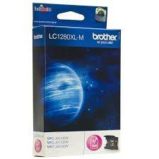 Brother Cartridge LC1280XLM Magenta for MFCJ5910DW/MFCJ6510DW/MFCJ6910DW, up to 1200pgs