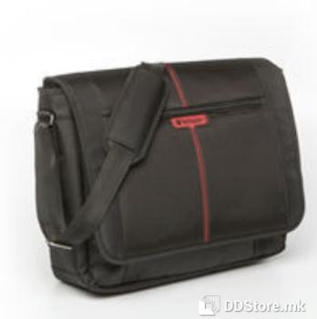 "Verbatim Berlin Messenger 16"" Black Notebook Bag"
