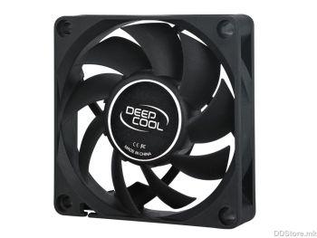 DeepCool XFAN 80 1300rpm Black Case Fan 80x80x25