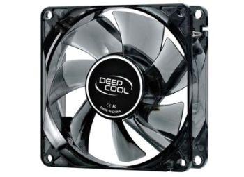 DeepCool Wind Blade 80 1800rpm Semi-transparent Black/Blue LED Case Fan 80x80x25