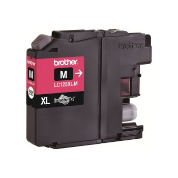 Brother Cartridge LC125XLM Magenta (up to 1200pgs), for DCP-J4110, MFC-J4410/J4510/J4610/J4711, MFC-J6520DW/J6920DW