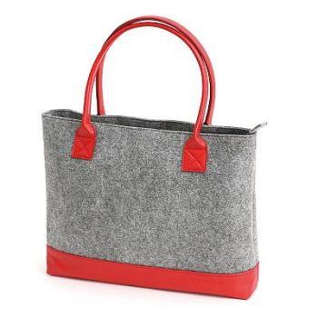 "Platinet Felt 15.6"" Red Notebook Bag"