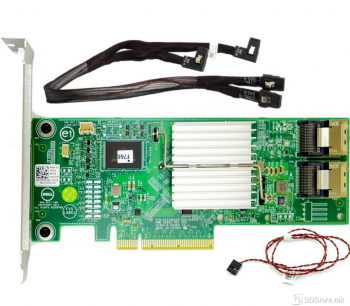 DELL PERC H310 Integrated RAID Controller, Full Height Adapter - Kit
