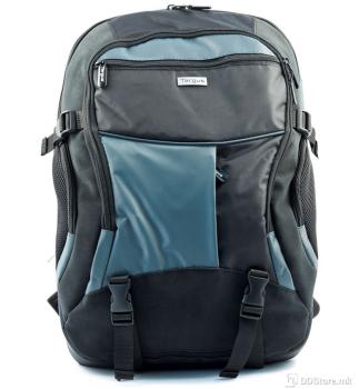 "Targus Atmosphere 17-18"" XL Black/Blue w/rain cover Notebook Backpack"