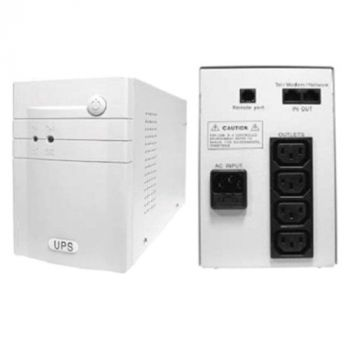 Weli Science MT-1500VA 840W Line interactive UPS+ AVR, with USB port, Microprocessor control (IEC outlet x4), Battery 12V1234W x2