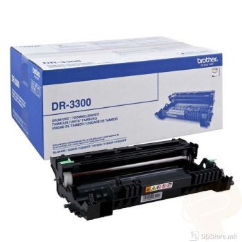Brother Drum Unit DR3300 for HL-5440D/5450DN/5470DW, HL-6180DW, DCP-8110, DCP-8250DN,MFC-8510DN/8520DN, MFC-8950DW  (up to 12000 pages)