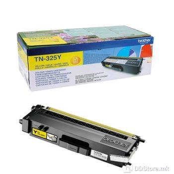Brother Toner TN325Y (3500 str.) Yellow for HL-4150CDN/4570CDW / HL-4140CN / DCP-9055CDN / DCP-9270CDN / MFC-9460CDN, MFC-9970CDW