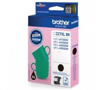 Brother Cartridge LC227XLBK Black (up to 1200pgs), for DCP-J4120DW/MFCJ-4420DW/MFCJ-4620DW