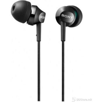 SONY MDREX110APB.CE7, Step-Up EX Series Earbud Headset, black