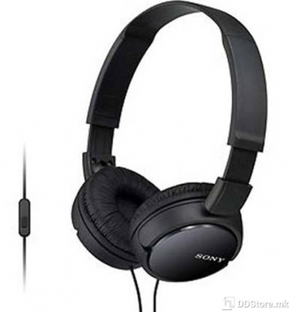 SONY MDRZX110APB.CE7, ZX series Foldable Over the ear Headset, black