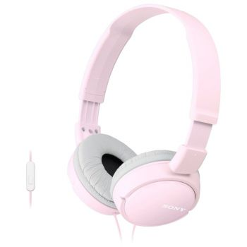 SONY MDRZX110APP.CE7, ZX series Foldable Over the ear Headset, pink