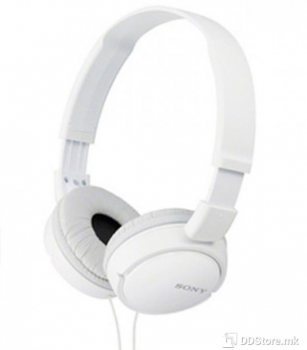 SONY MDRZX110APW.CE7, ZX series Foldable Over the ear Headset, white