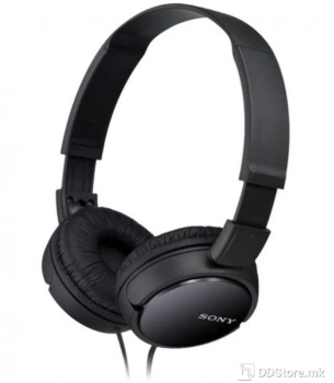 SONY MDRZX110B.AE, ZX series Foldable Over the ear Headphones, black