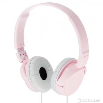 SONY MDRZX110P.AE, ZX series Foldable Over the ear Headphones, pink