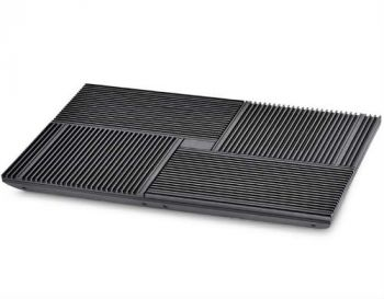"Deepcool Multi Core X8 up to 17"" Aluminium Black Notebook Stand/Cooler"