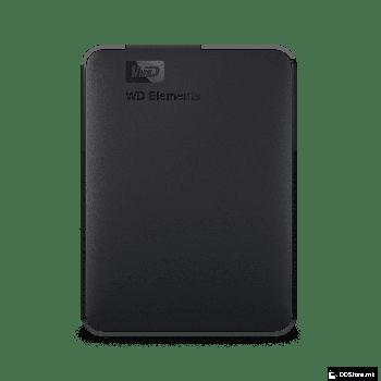 """Western Digital Elements Portable, HDD 2.5"""" 2TB External USB3.0, Black, WDBU6Y0020BBK-EESN"""