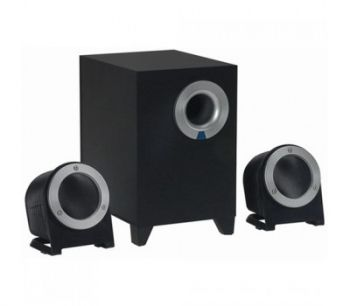 Power Box L7 2.1 Channel speaker, Black, R.M.S: 8.5w, P.M.P.O: 170w, Frequency Reponse: 100hz-20Khz, Colour box packing