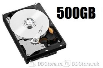 """Hard Disk 3,5"""" 500GB Refurbished HDD, Various brands Western Digital, Seagate. Class A tested"""