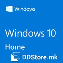 MICROSOFT Windows 10 Home, 64bit, Eng 1pk DSP DVD