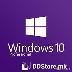MICROSOFT Windows 10 Pro, 64bit, Eng 1pk DSP DVD