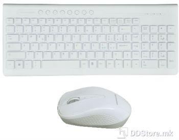 Mediacom Wireless Nx940 Multimedia w/Mouse White