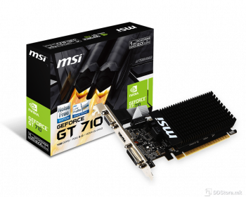 MSI GT 710, 1GB DDR3, DL- DVI-D, HDMI, VGA