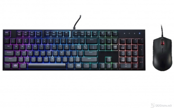 CoolerMaster MasterKeys Lite L Combo / RGB / Mouse and Keyboard Bundle SGB-3040-KKMF1-US