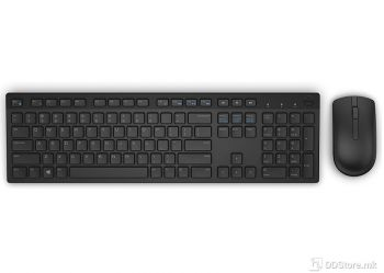 Dell Wireless Keyboard and Mouse-KM636 - US International (QWERTY) - Black