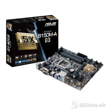 ASUS B150M-A D3, Intel® Socket 1151 for 6th Gen Core™ i7/Core™ i5/Core™ i3/Pentium®/Celeron®