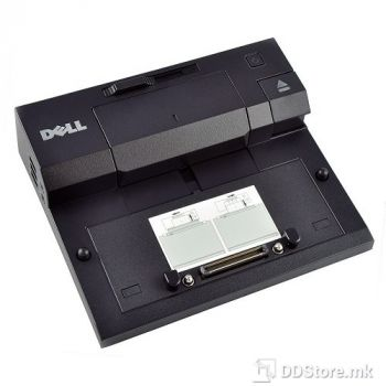 DELL Port Replicator : EURO2 Simple E-Port II with 130W AC Adapter, USB 3.0, without stand