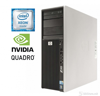 HP Workstation Z400 Xeon® W3550/ 8GB RAM/ 320GB HDD/ Quadro NVS290