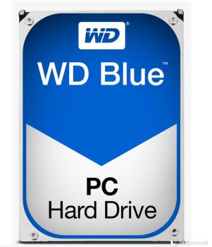 WesternDigital HDD 4TB 64MB BLUE 5400RPM, SATA-3, 6.0Gb/s, WD40EZRZ
