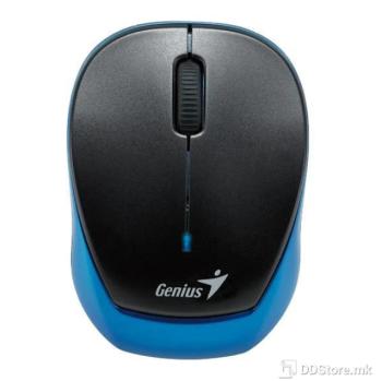 Genius Micro Traveler 9000R V3, Tiny size, 2.4GHz wireless, Blue