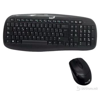 Genius KB-8000X, Wireless Combo (Keyboard + Mouse), Black