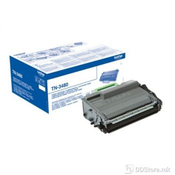 Brother Toner TN3480 (do 12000 str.) for HL-L5000D/L5100DN/L6200DW/L6300DW/L6400DW/DCP-L5500DN/L5600DN/L5650DN/MFC-L5700DW/L5800DW/L6800DW