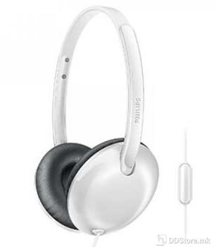 Philips SHL4405WT/00, Headphones with mic,