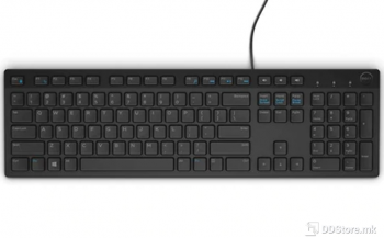 Dell Keyboard KB216, Multimedia, US International (QWERTY) - Black (RTL BOX)