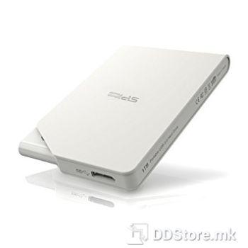 SILICON POWER 500GB Stream S03 Portable HDD USB 3.0, White