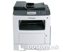 Lexmark MFP MX417de Laser printer, MFP monochrome 35SC746, 38ppm A4